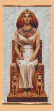 Египетская богиня Баст.