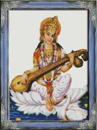 Богиня Сарасвати.