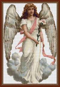 Ангел с лентой.