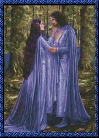 Арвен и Арагорн.