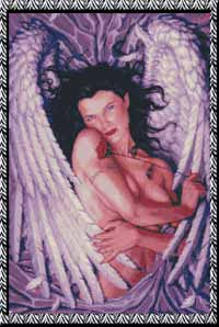 Ангел с цветком.