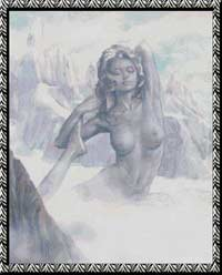 Богиня снега.