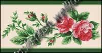 90 схем вышивки крестом роз, розочек и.
